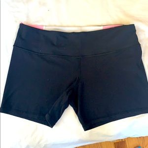 Lululemon bike shorts